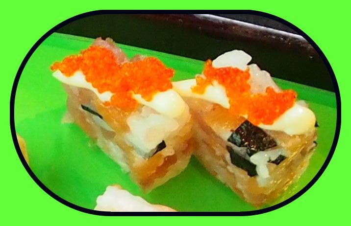 randburg restaurant fusionista asian - caviar sushi